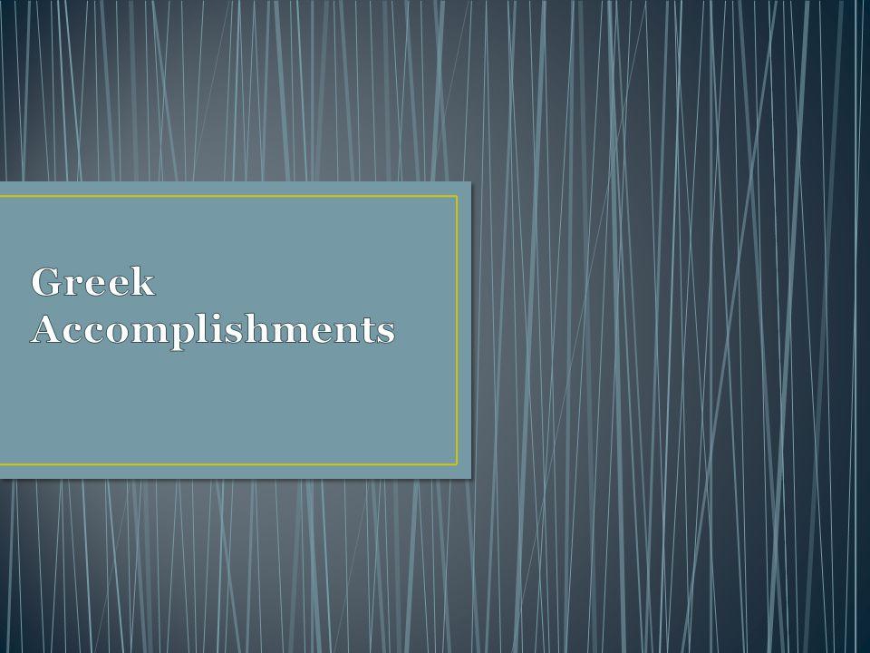 Greek Accomplishments