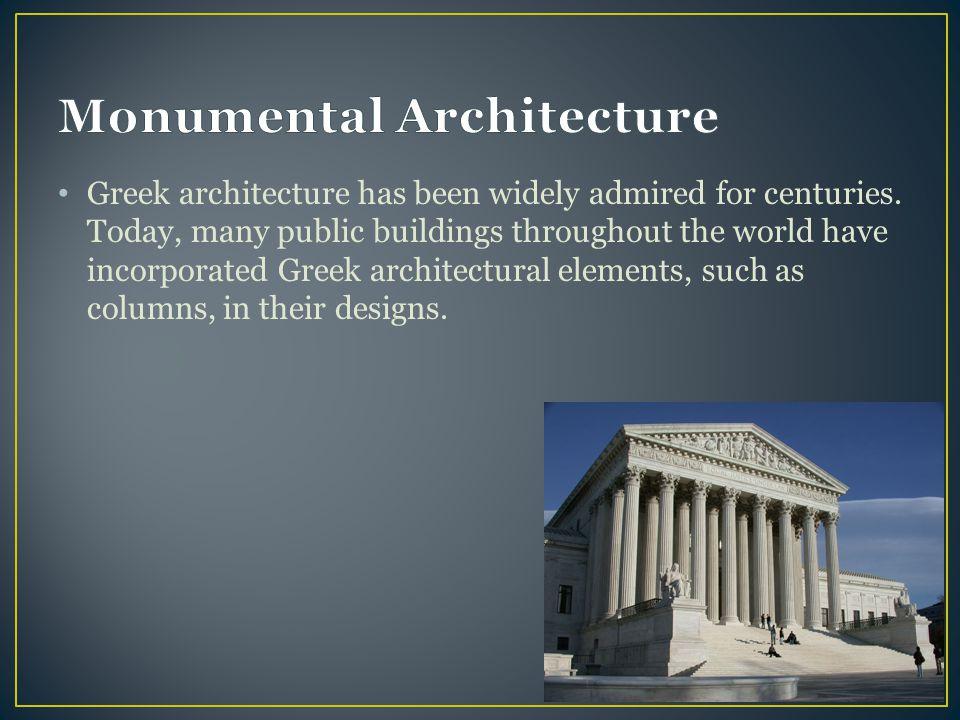 Monumental Architecture