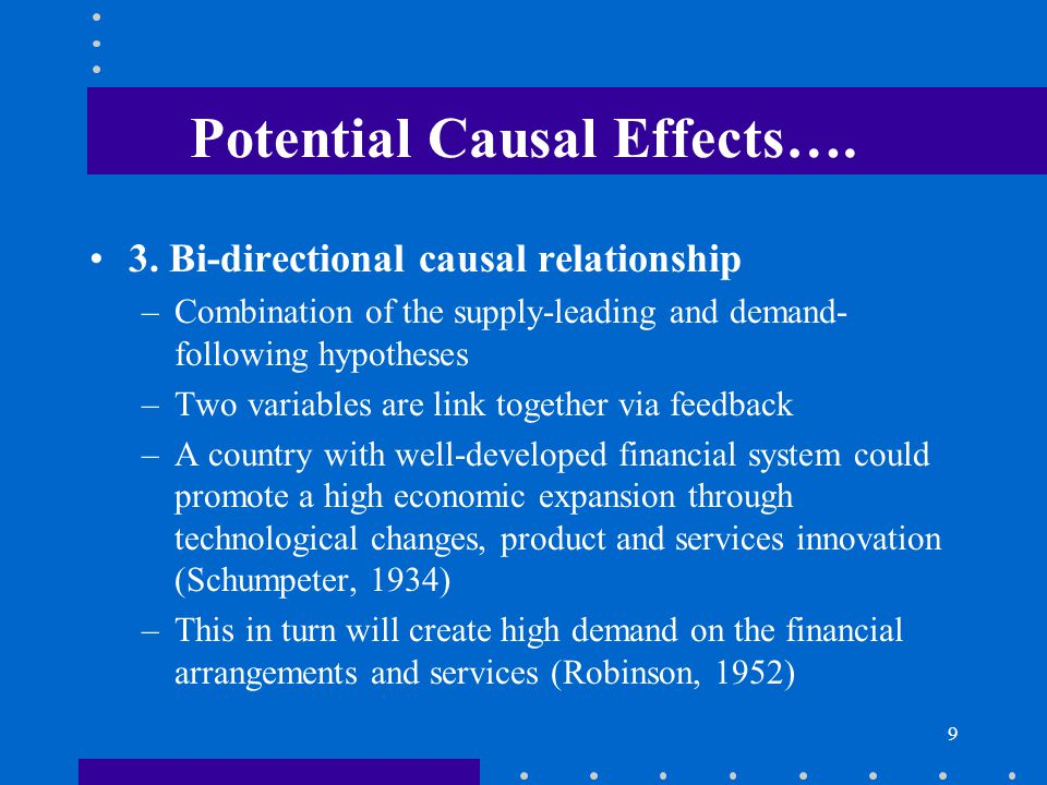 Potential Causal Effects….