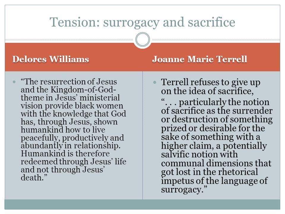 Tension: surrogacy and sacrifice