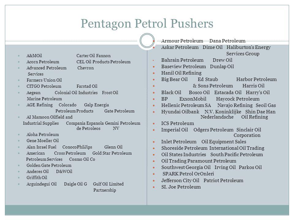 Pentagon Petrol Pushers