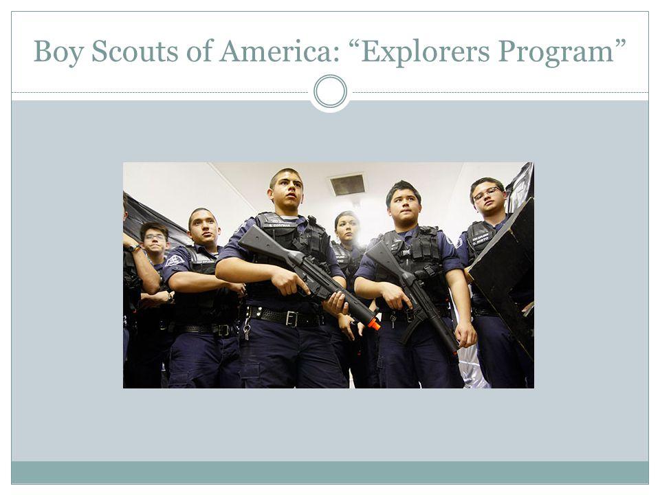 Boy Scouts of America: Explorers Program