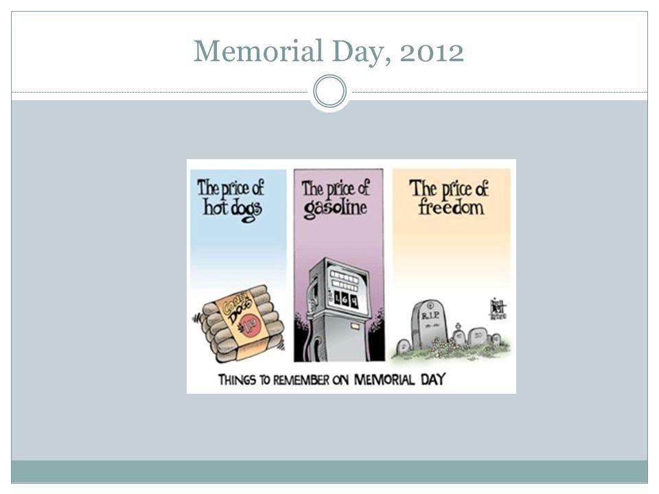 Memorial Day, 2012