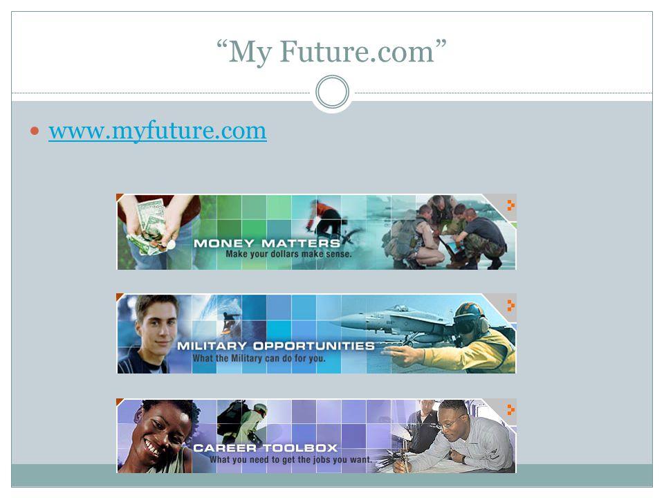 My Future.com www.myfuture.com