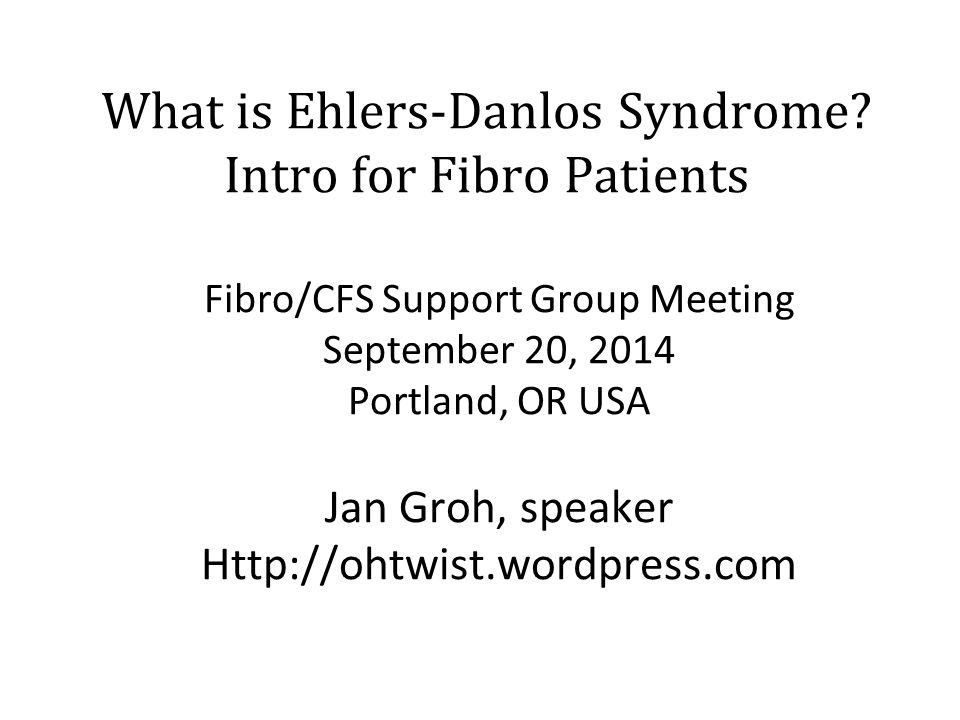 What is Ehlers-Danlos Syndrome Intro for Fibro Patients