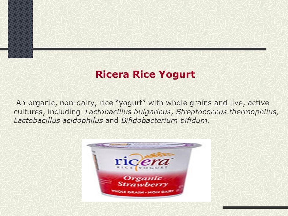 Ricera Rice Yogurt
