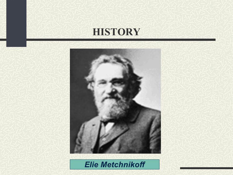 HISTORY Elie Metchnikoff