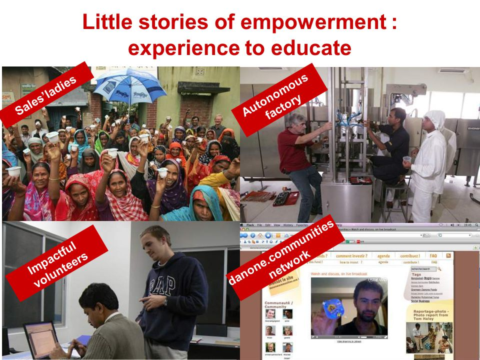 Little stories of empowerment : experience to educate