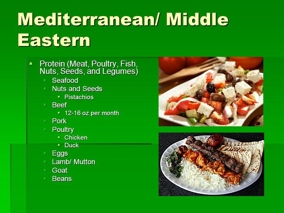 Mediterranean/ Middle Eastern