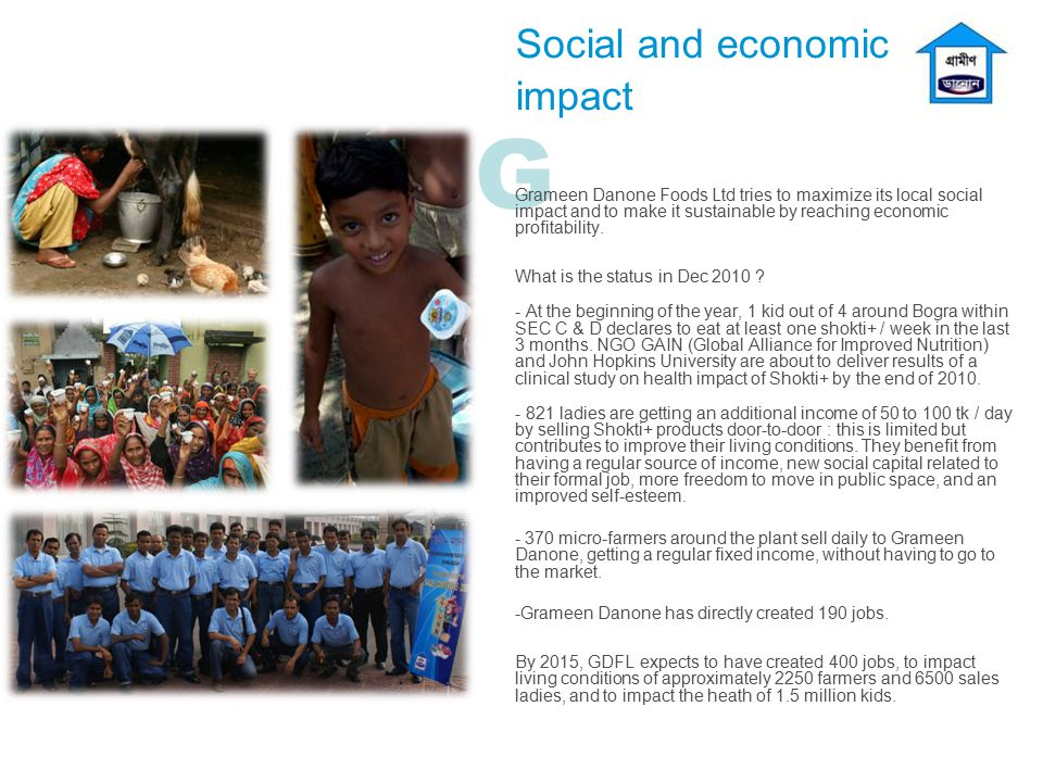 G Social and economic impact