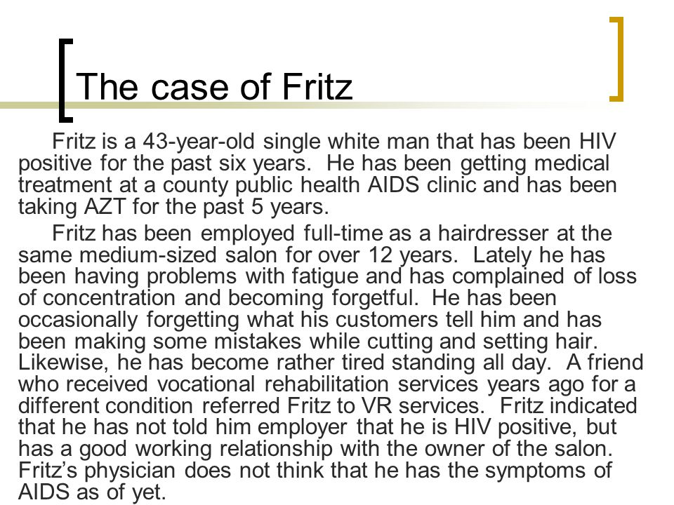 The case of Fritz