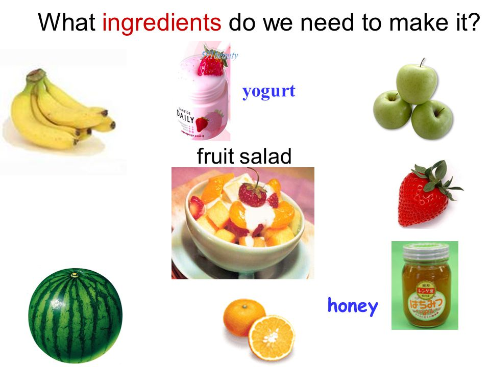 What ingredients do we need to make it