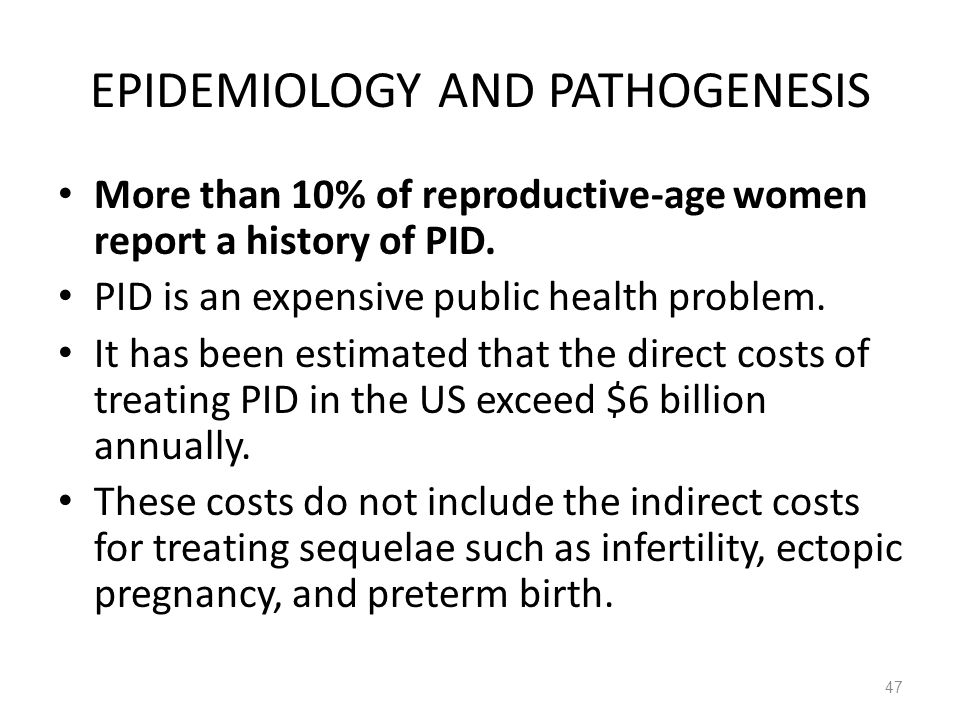 EPIDEMIOLOGY AND PATHOGENESIS