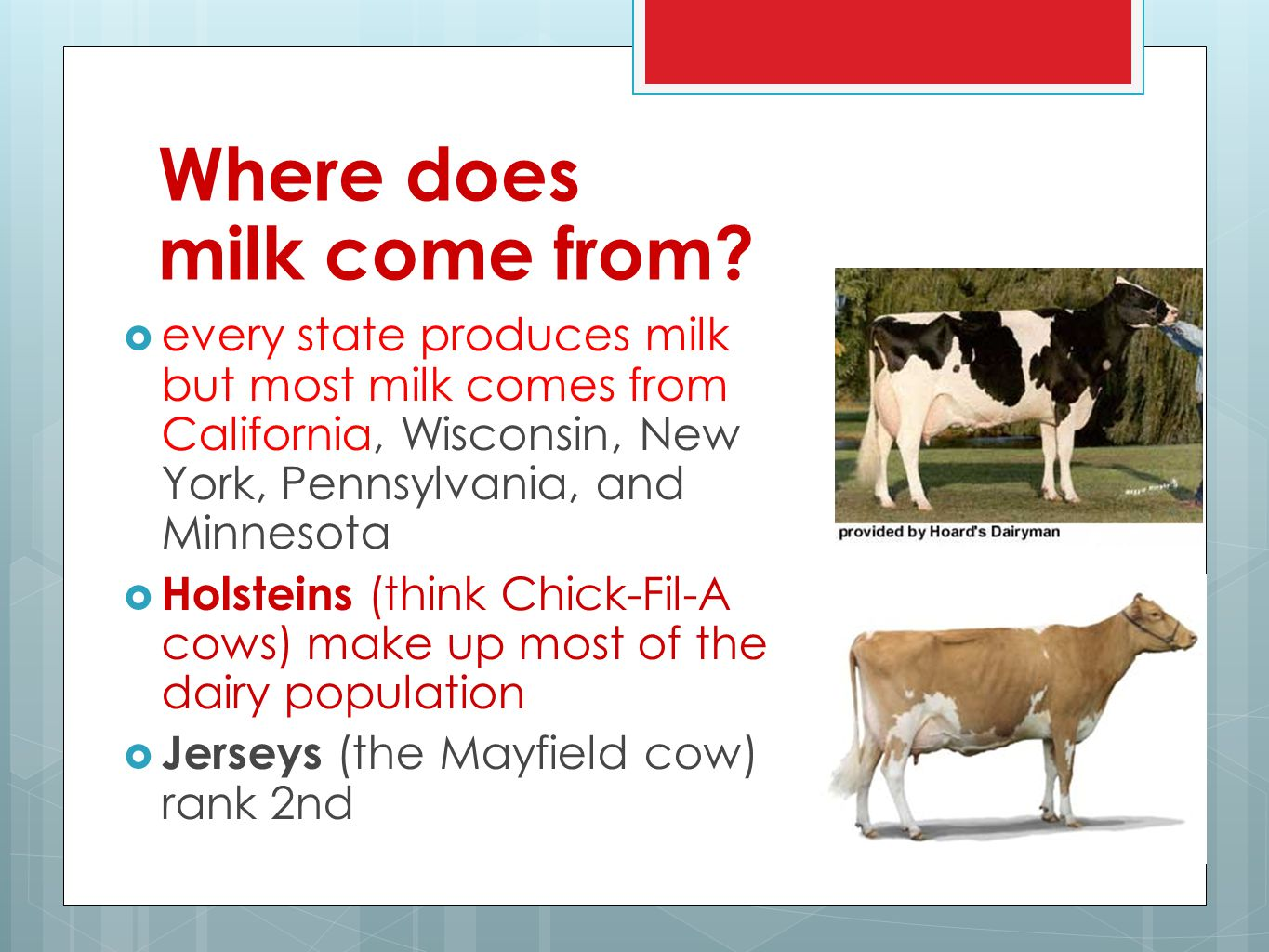 the dairy industry an introduction to the animal industry ppt video online download. Black Bedroom Furniture Sets. Home Design Ideas
