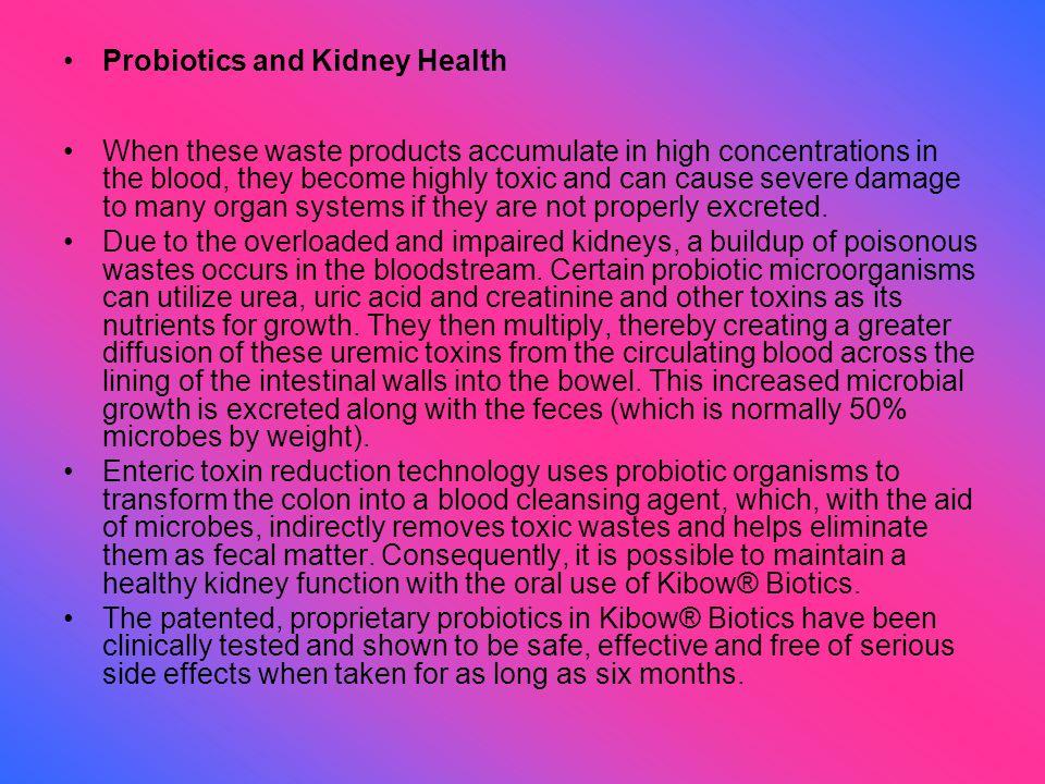 Probiotics and Kidney Health