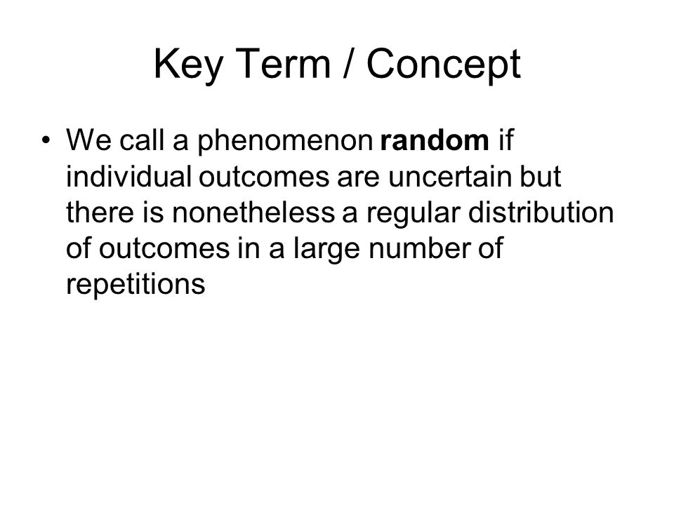 Key Term / Concept