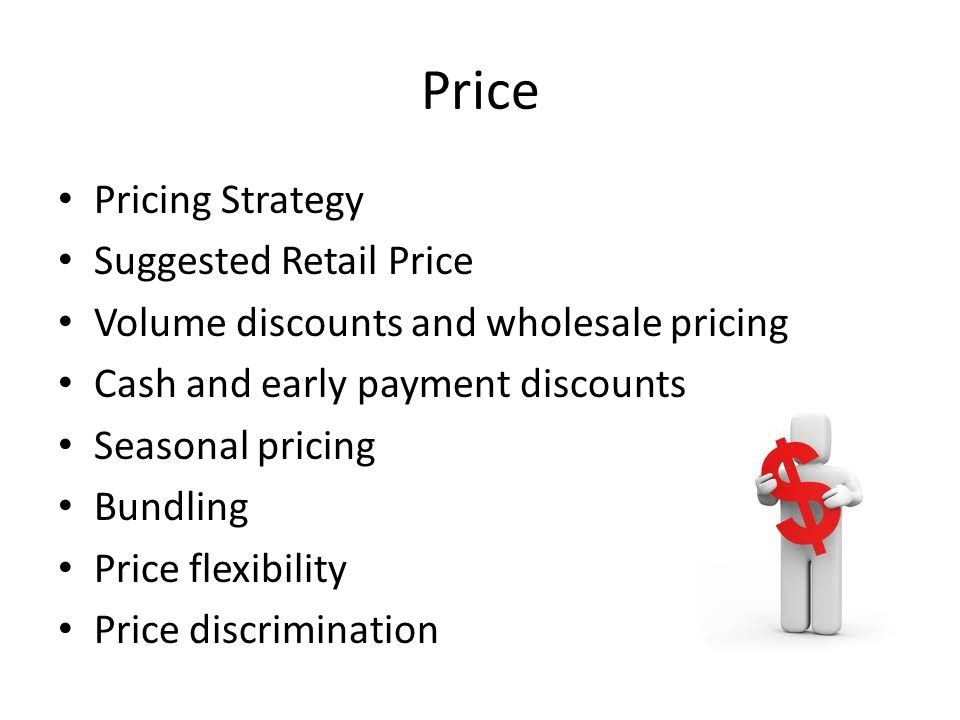 Price Pricing Strategy Suggested Retail Price