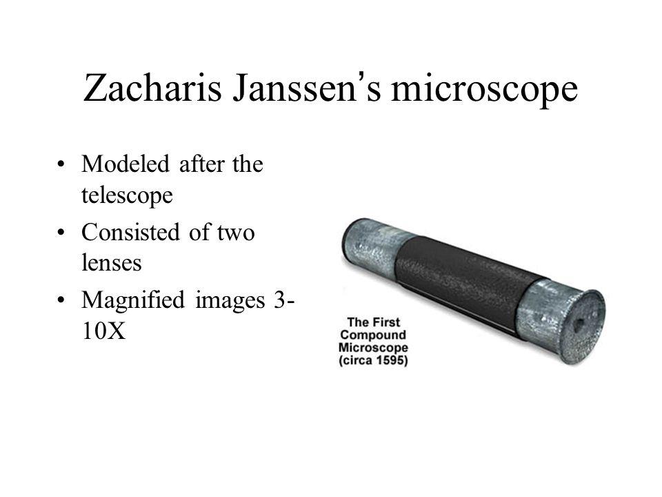 Zacharis Janssen's microscope