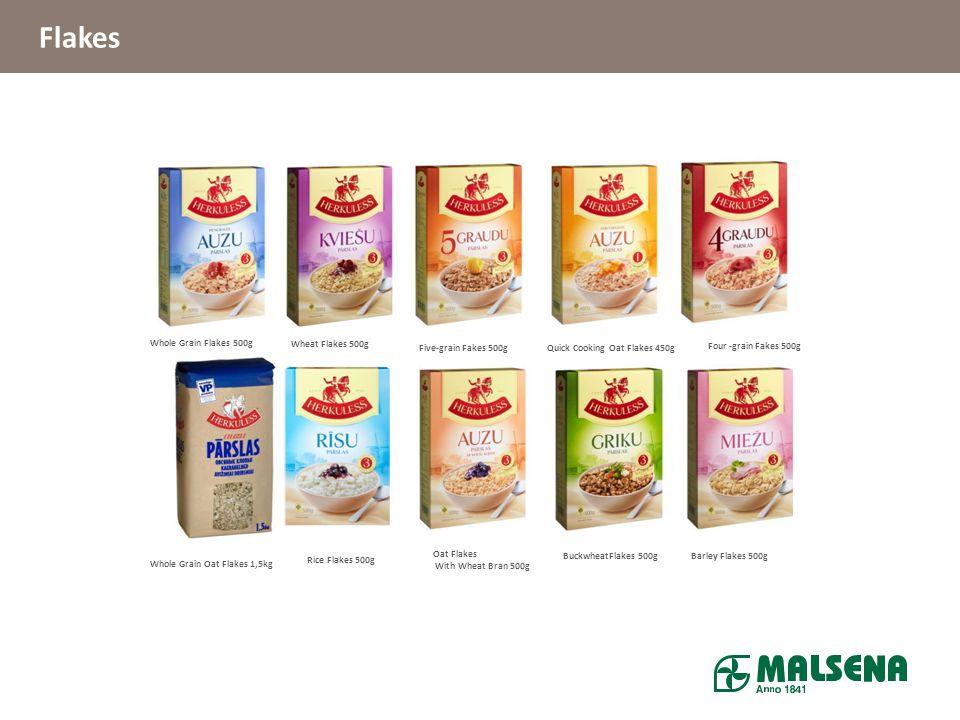 Flakes Whole Grain Flakes 500g Wheat Flakes 500g Five-grain Fakes 500g