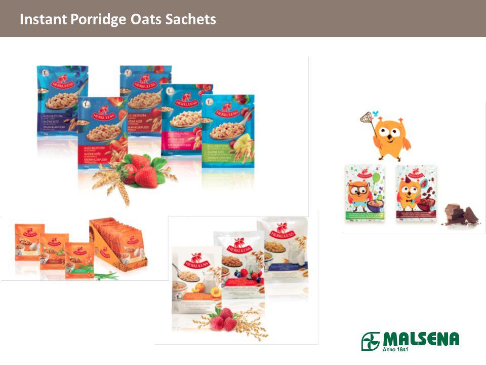 Instant Porridge Oats Sachets