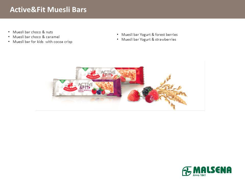 Active&Fit Muesli Bars