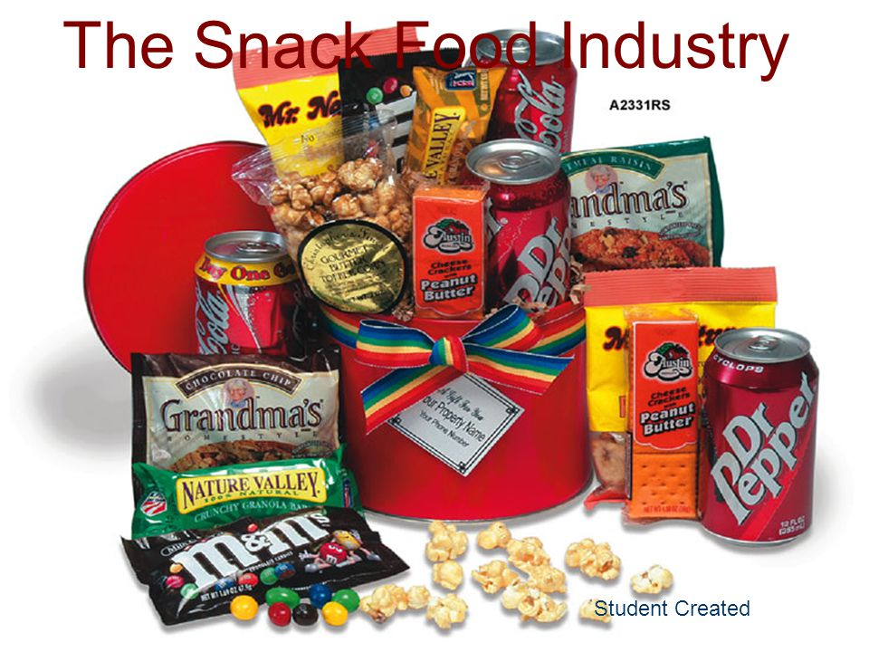 The Snack Food Industry