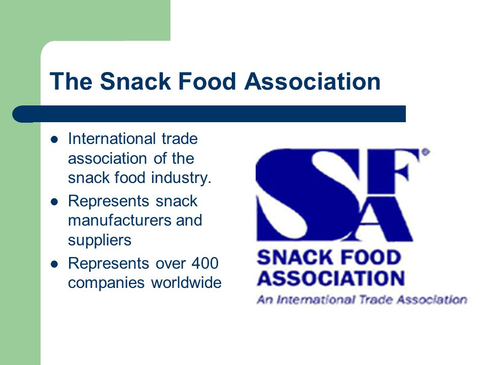 The Snack Food Association