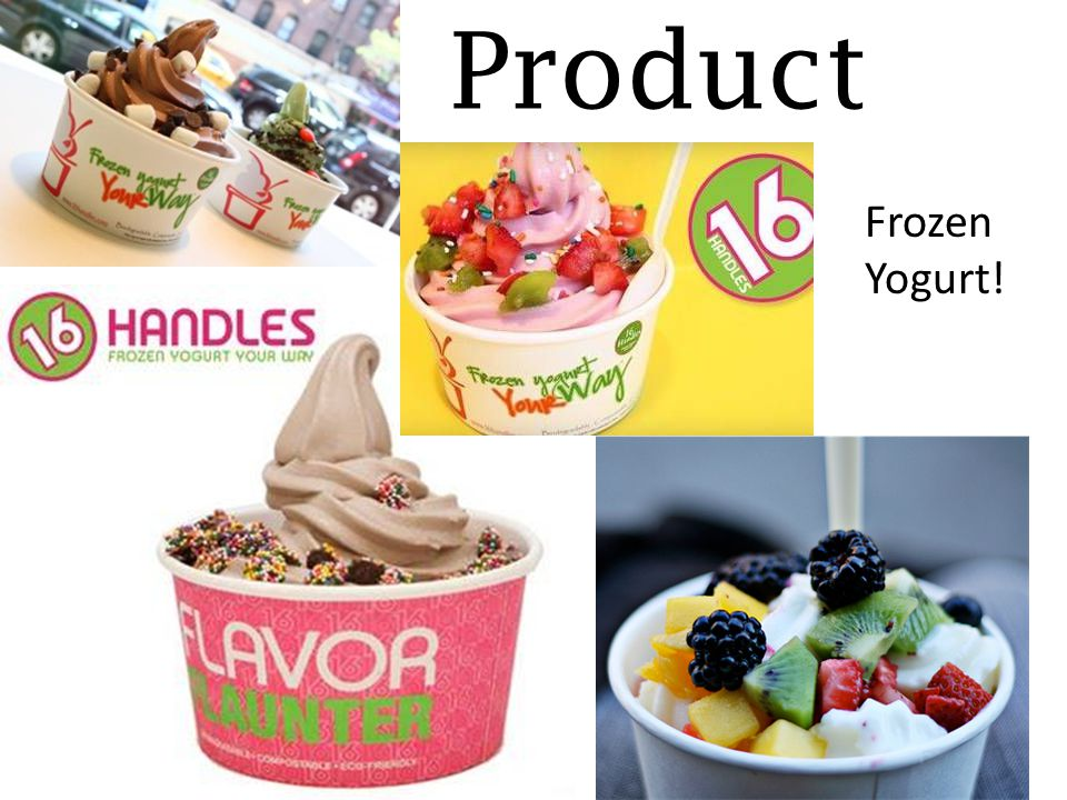 Product Frozen Yogurt!