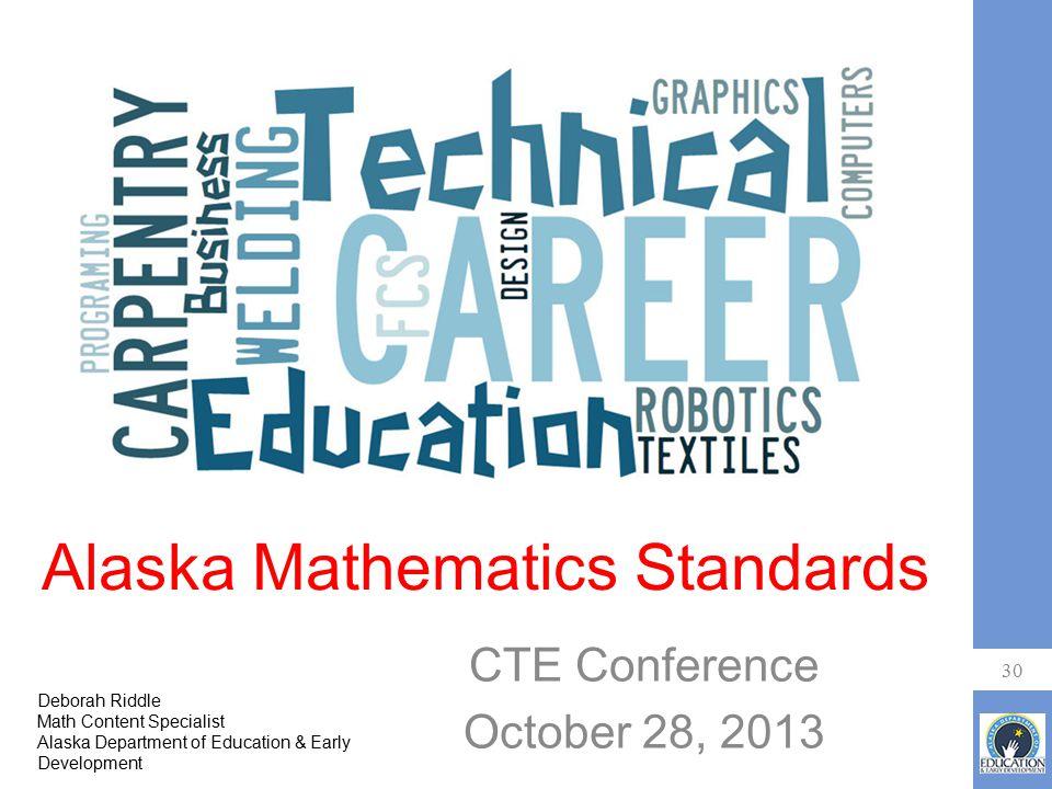 Alaska Mathematics Standards
