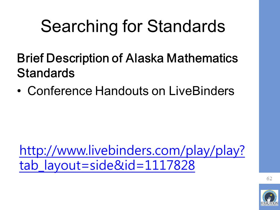 Searching for Standards