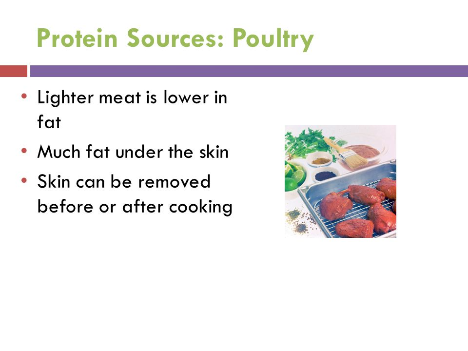 Protein Sources: Poultry