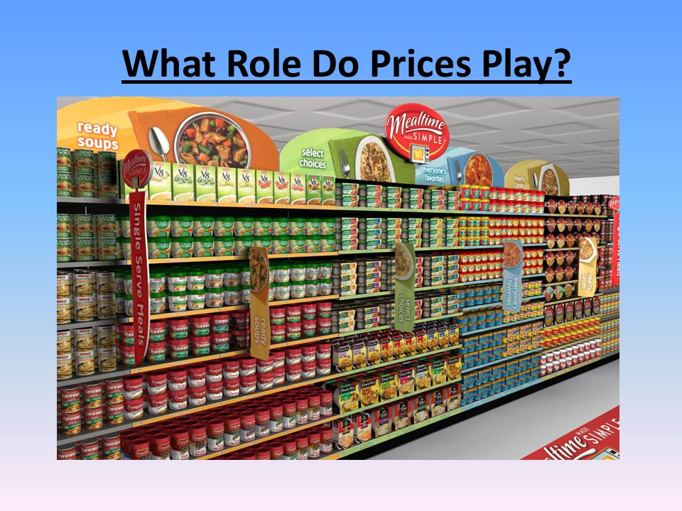 What Role Do Prices Play