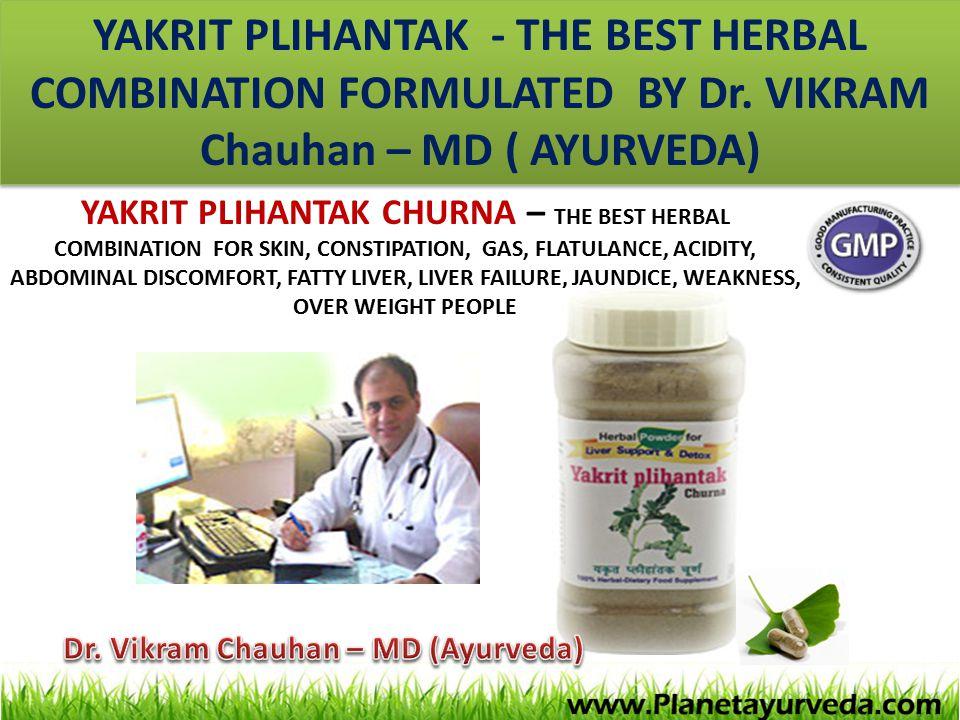 Dr. Vikram Chauhan – MD (Ayurveda)