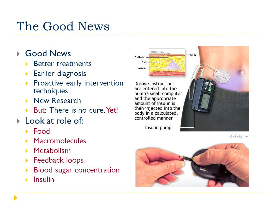 The Good News Good News Look at role of: Better treatments