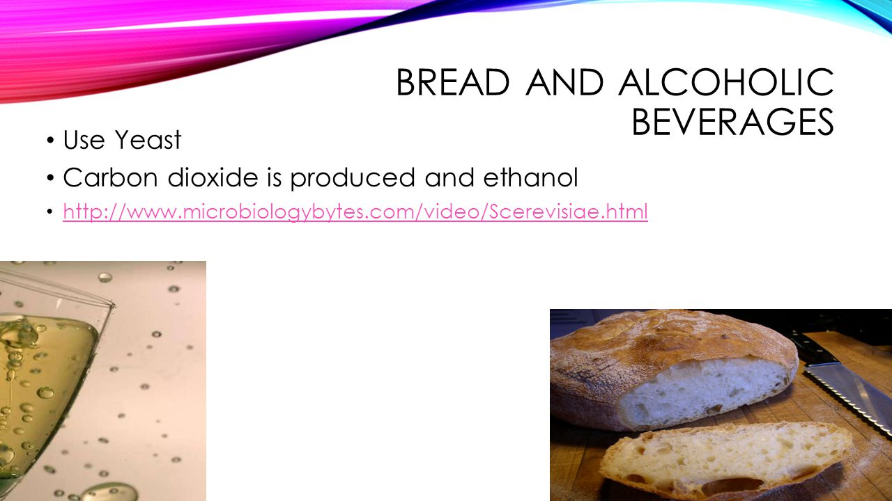 Bread and Alcoholic Beverages