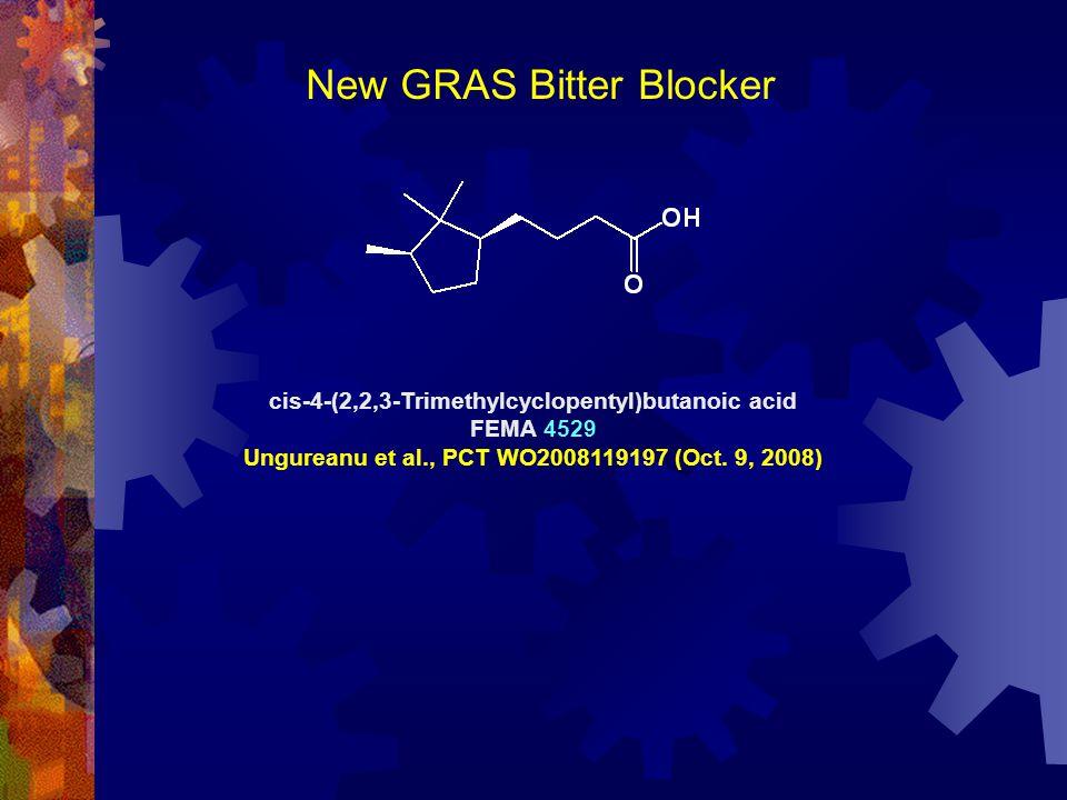 New GRAS Bitter Blocker
