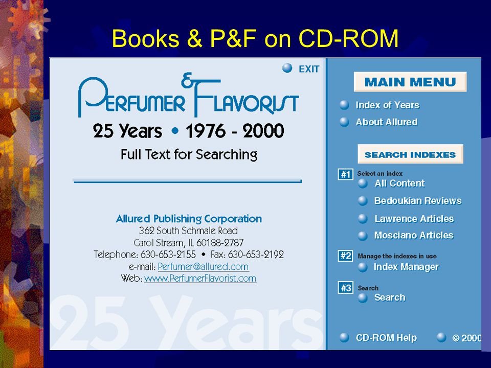 Books & P&F on CD-ROM