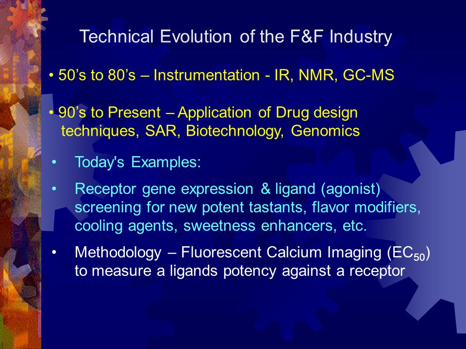 Technical Evolution of the F&F Industry
