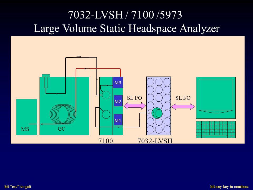 Large Volume Static Headspace Analyzer