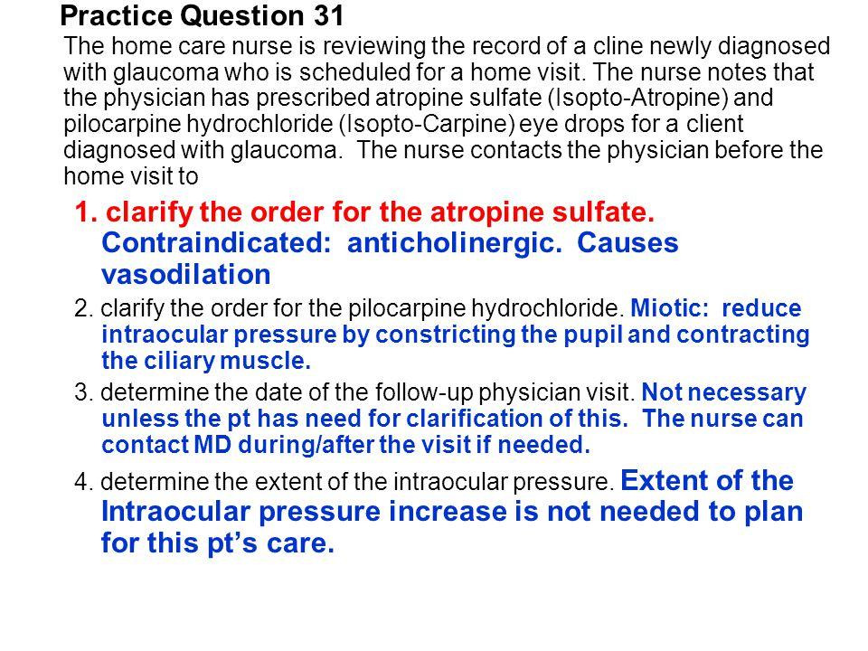 Practice Question 31
