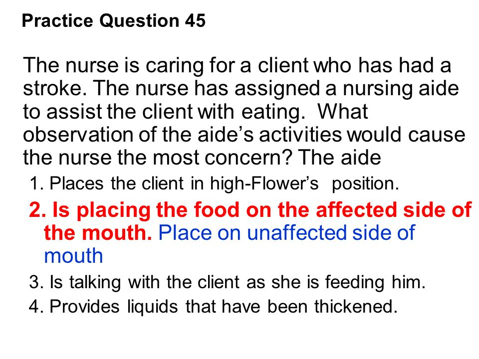Practice Question 45
