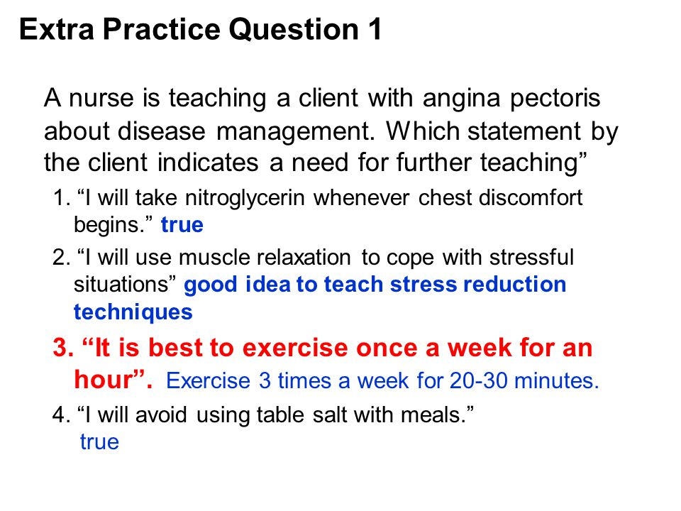 Extra Practice Question 1