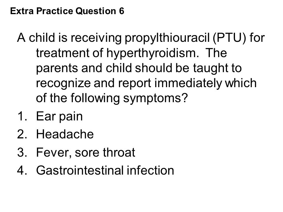 Extra Practice Question 6