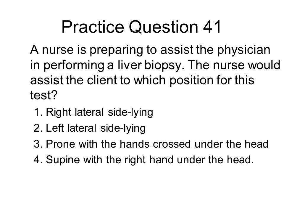 Practice Question 41