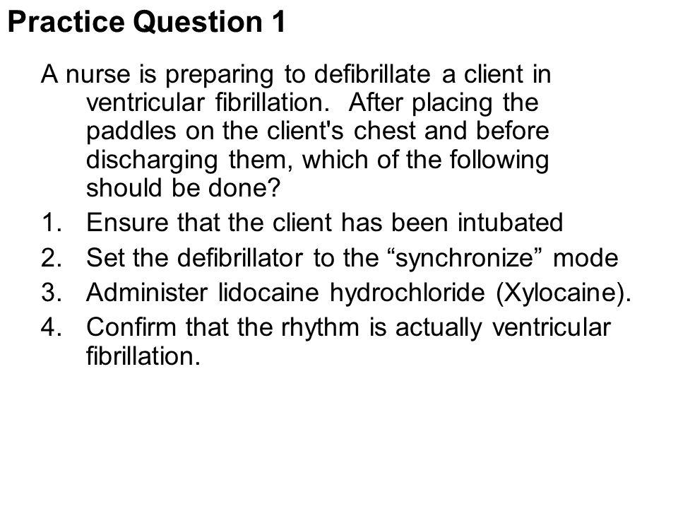 Practice Question 1