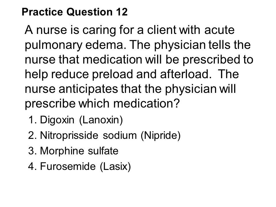 Practice Question 12