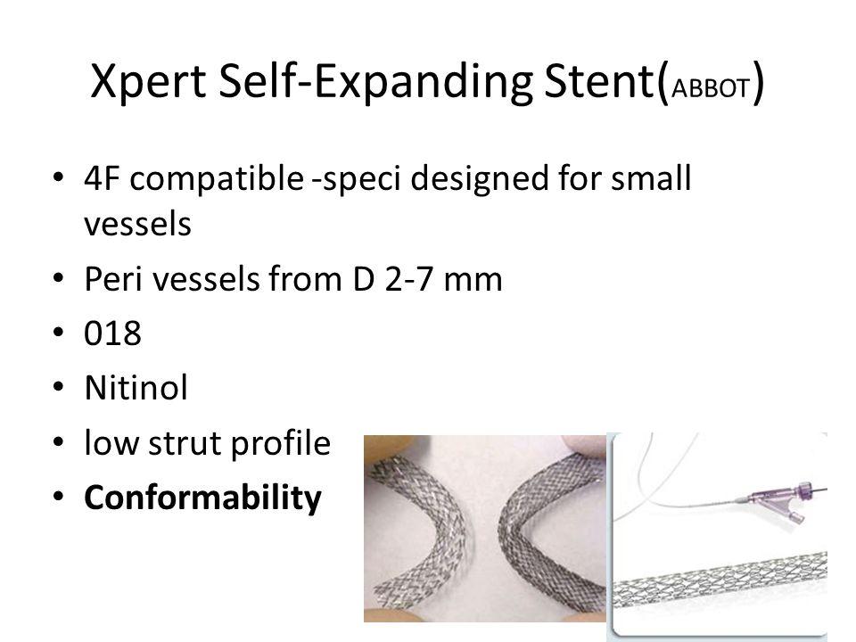 Xpert Self-Expanding Stent(ABBOT)
