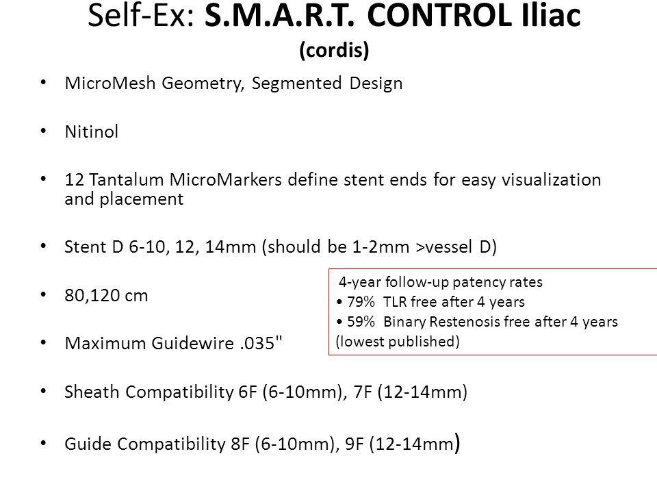 Self-Ex: S.M.A.R.T. CONTROL Iliac (cordis)