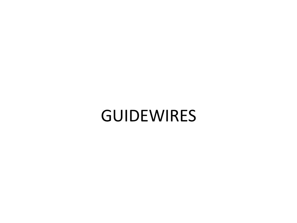 GUIDEWIRES