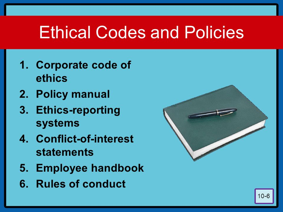 Ethics Handbook for On and Off-Duty Conduct